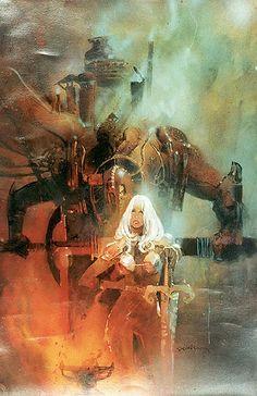 Uzra-Mishra Wars by Bill Sienkiewicz