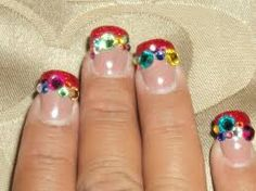 Image result for gems nail ideas
