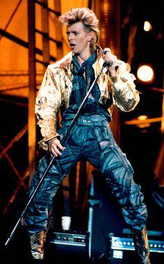 David Bowie - Glass Spider Tour - 1987