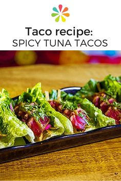 How to: Orale's Spicy Tuna Tacos #tacorecipe #cincodemayo #everydayhealth | everydayhealth.com