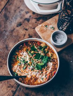 Linsen Gemüse Eintopf | vegan & herzhaft - Klara`s Life  Nuevas Sämiger Linsen Gemüse Eintopf. Dieser Eintopf ist super lecker, einfach zu machen vegan & schnell gemacht. Mit Gemüse und Puy Linsen.