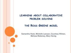51 Best Student Behavior Collaborative Problem Solving Images On
