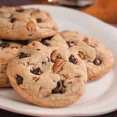 Jumbo Chocolate Chip Cookies - a family favorite from Taste of Home (This works for high altitudes - I am a mile high~!) -do not melt the butter, bring to room temp