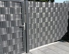 sichtschutz kombination von lichtgrau mit anthrazit terrasse pinterest sichtschutz. Black Bedroom Furniture Sets. Home Design Ideas