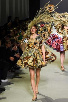 Viktor & Rolf | Spring 2015 Couture Collection | Style.com  - This Viktor & Rolf couture collection is more a work of art than clothes for reality or even the red carpet, so much so that three of these dresses were purchased for display in the Museum Boijmans Van Beuningen in Rotterdam!