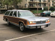 1989 Ford LTD Country Squire Wagon  http://bringatrailer.com/listing/1989-ford-crown-victoria-2/