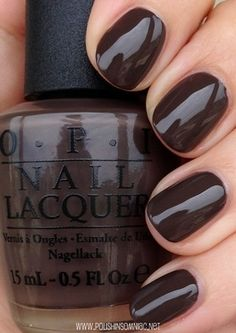 OPI How Great is your Dane..2014 Fall color from the Nordic collection. Gotta…