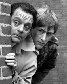 David Jason and Nick Lyndhurst in Only Fools and Horses. British Sitcoms, British Comedy, Comedy Tv, Comedy Show, David Jason, Only Fools And Horses, Music Film, Funny People, The Fool