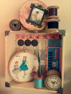 Sewing display