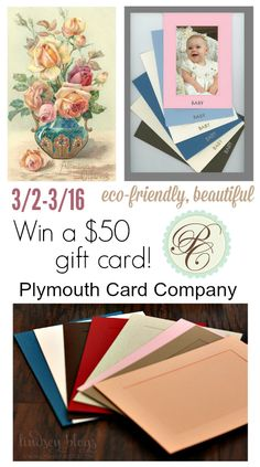 Blog post at So Easy Being Green : This post about ecofriendly greeting cards is brought to you by Plymouth Card Company. All opinions are my own.   Welcome to the 'Sprin[..]