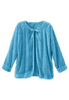 cd38587e3a4bd Only Necessities Women s Plus Size Chenille Bed Jacket