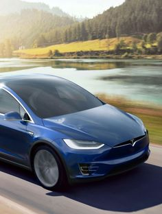 Tesla's latest, wicked fast, electric SUV