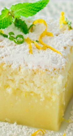 Lemon Magic Cake | j