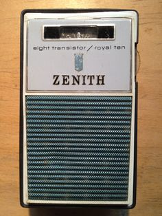 The Transistor radio. AM. AM-FM's were later available. Used to listen to the WMCA Good Guys and 77 WABC AM in NYC on this thing.