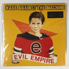 Rage Against The Machine - Evil Empire LP Record - BRAND NEW - 180 GRAM #HardRock