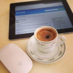 Lekker kopje Turkse koffie ...