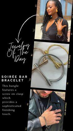 Dainty Jewelry, Silver Jewelry, Fine Jewelry, Women Jewelry, Diy Accessories, Bangles, Bracelets, Formal Wear, Leather Jacket