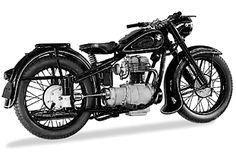 BMW R 25 Bmw Vintage, Bmw Motors, Bike Bmw, Bmw Classic Cars, Vintage Cycles, Bmw Cafe Racer, Old Motorcycles, Cool Bikes, Bobber