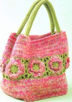 Красивые вязанные сумки идеи для воплощения. Обсуждение на LiveInternet - Российский Сервис Онлайн-Дневников