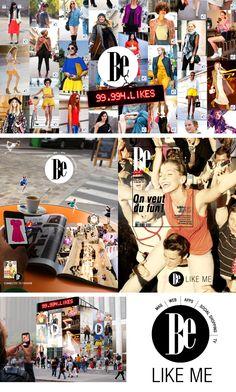 BE (Lagardère) Campagne média multicanals 360 pour BE (magazine de mode du groupe Lagardère), virale on/off line avec l'agence Havas Conception en binôme avec Esther Maarek (conceptrice rédactrice) Esther, Times Square, Magazine, Baseball Cards, Sports, Books, Fun, Art Director, Group