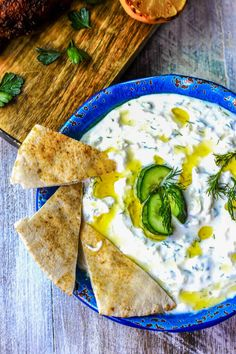 Traditional Greek Tzatziki Recipe will show you how to make a delicious sauce from thick yogurt, garlic, dill, olive oil & vinegar.