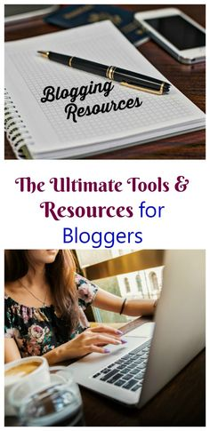 Running a blog can be a challenge. These blogging resources are all ones that I use and recommend to any blogger.