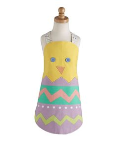 Easter Chick Apron - Kids