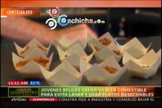 Platos Comestibles Como Solución Para Evitar Fregar #Video