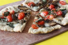 Whole Wheat Grilled White Pizza