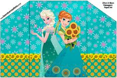Frozen Fever: Free Printable Invitations.