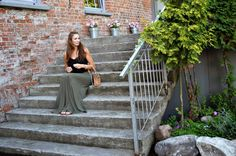 natalie's style: LOOK OF THE DAY: Long skirt