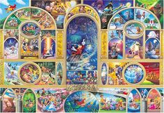 AmazonSmile: Tenyo Disney All Character Dream Jigsaw Puzzle (1000 Piece): Toys & Games