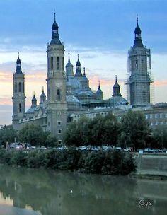 Basílica de El Pilar, Zaragoza, Spain