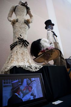 """June 4, 2011 - Beverly Hills, California, United States: Audrey Hepburn's iconic Ascot dress from My Fair Lady, designed by legendary costume designer Cecil Beaton is expected to fetch from $200 to $300,000 at the stunning collection of Hollywood's most iconic costumes owned by actress, Debbie Reynolds. Items will be on display for public viewing and auctioned off at """"Debbie Reynolds The Auction"""", which will be held June 18, at the Paley Center for Media in Beverly Hills. Marilyn Monroe's…"""