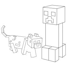 37 Free Printable Minecraft Coloring Pages For Toddlers Minecraft Coloring Pages Coloring Pages Puppy Coloring Pages