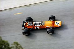 Bruce McLaren (McLaren M7C Cosworth) Grand Prix de Monaco 1969 - source Carros e Pilotos.