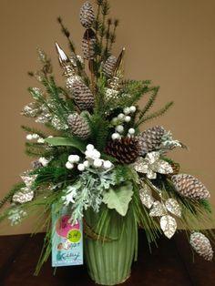 Church Flower Arrangements Vase Arrangements Christmas Arrangements Magical Christmas All Things Christmas