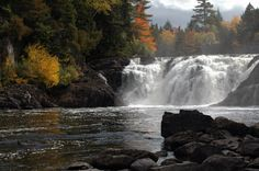 7. Grand Falls, Somerset County.- 10 falls to visit in Maine.