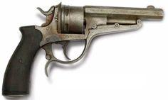 Revólver Francés Galand modelo 1872, usado por los Oficiales Chilenos