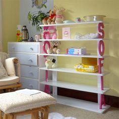Baby Furniture & Bedding Personalized Kids Bookshelf