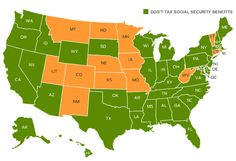 Top 10 States That Don't Tax Social Security State-by-State Guide to Taxes on Retirees-Kiplinger