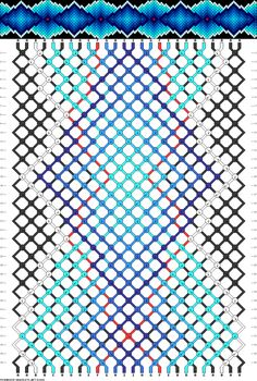 Pattern # Strings: 26 Lines: 36 Colors: 9 - Pattern # Draw . - Pattern # strings: 26 lines: 36 colors: 9 – Pattern # strings: 26 lines: 36 colors: - Diy Bracelets With String, Yarn Bracelets, Embroidery Bracelets, Bracelet Crafts, Beaded Bracelet, Braided Friendship Bracelets, Diy Friendship Bracelets Patterns, Homemade Bracelets, Diy Bracelets Easy