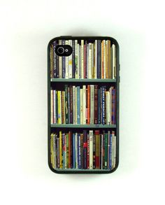 I want for my new iPhone!!! Iphone 4 Case  Bookshelf Design Iphone Case for by fundakcases, $17.00