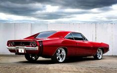 The American automobile brand, Dodge, is offering their newly revived muscle car, the 2017 Dodge Mopar, Dodge Trucks, Dodge Auto, Dodge Hemi, Dodge Challenger, Rat Rods, Gp Moto, 1968 Dodge Charger, Charger Rt