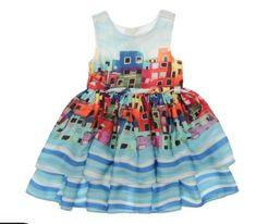 At Fashion Playground, we #offer a trendy #blue #dress for girls. Your little girl will love to show off her #gorgeous style while wearing this #adorable dress! Cute Dresses, Girls Dresses, Summer Dresses, Girls Blue Dress, Made Clothing, The Dress, Little Girls, Latest Trends, Fashion Dresses