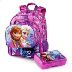 Disney Frozen Backpack and Accessories  found at