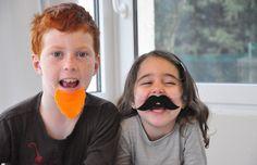Barba e baffi per Carnevale