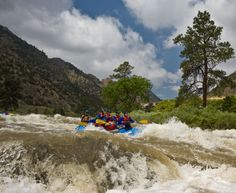 Family-friendly rafting in Colorado with Echo Canyon River Expeditions