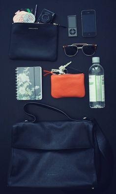 dream purse + contents.
