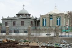 Church of Our Lady Mary of Zion Aksum, Ethiopia. Said to be the Home of the Ark of the Covenant.